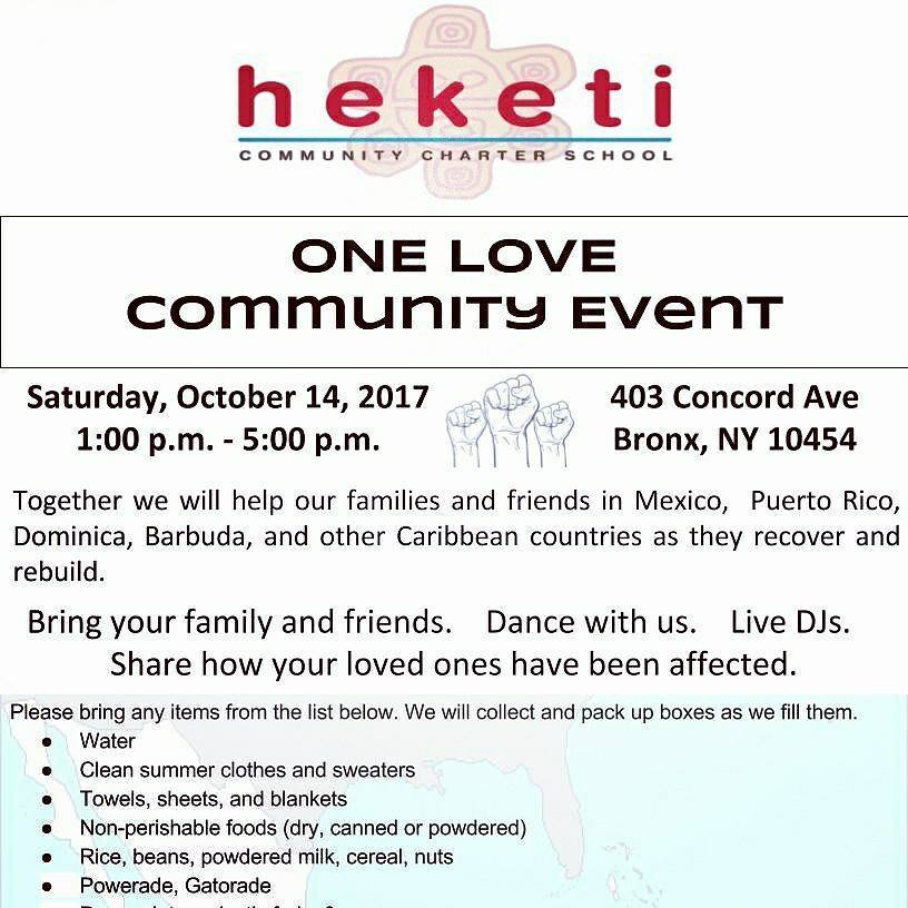 One Love Community Event