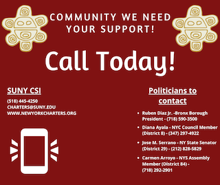 Community we need your support! Call your local politicians today!